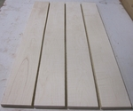Tiger Maple 4/4 S4S KD - Four Pcs