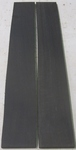 Ebony Gaboon Fret Board Stock S2S KD - Two Pcs