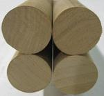 "Cherry Dowels 1"" X 3' - Four PCS"