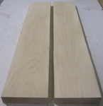 Basswood  10/4 S2S KD - Two Pcs