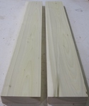 Poplar 10/4 S2S KD - Two Pcs