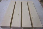 Basswood 8/4 S2S KD - Four Pcs